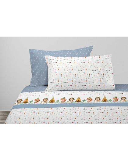 Juego de sábanas Junior Azul